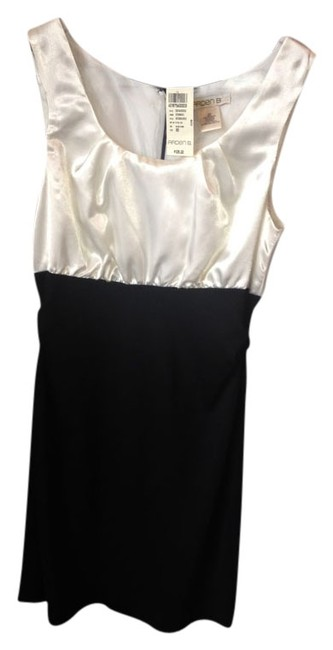 Preload https://item4.tradesy.com/images/arden-b-white-top-black-bottom-above-knee-cocktail-dress-size-0-xs-854743-0-0.jpg?width=400&height=650
