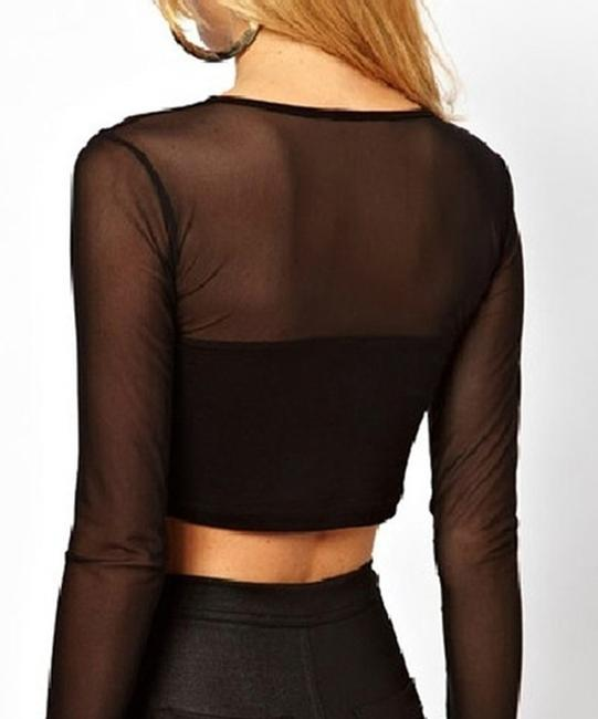 Other Size Large Top Black