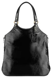 Yves Saint Laurent Ysl Tribute Leather Classic Tote in Black