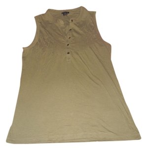 Theory Sleevless Classic Top Olive Green