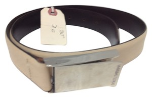 Dolce&Gabbana Dolce & Gabbana Beige Leather belt 33