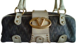 Valentino Satchel in monogram canvas