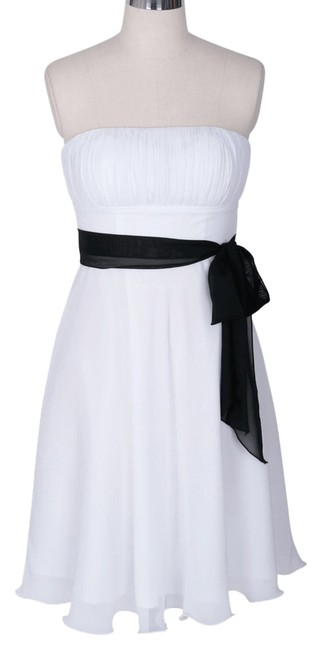 Preload https://img-static.tradesy.com/item/855751/white-strapless-chiffon-pleated-knee-length-cocktail-dress-size-22-plus-2x-0-0-650-650.jpg