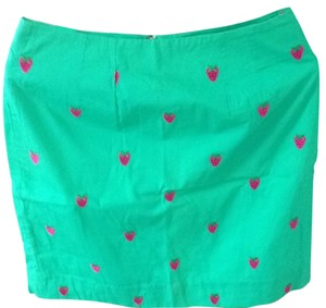 Lilly Pulitzer Skirt Green, Pink