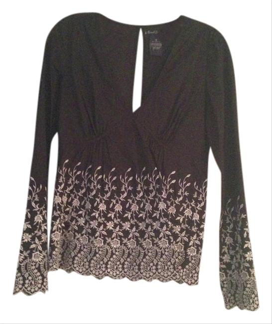 Earl Jeans Embroided Cotton Tunic