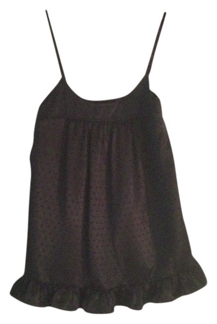 Express Baby Doll Satin Top Black