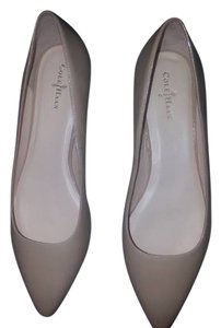 Cole Haan Pointed Toe Designer Nude Flats