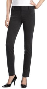 Michael Kors Knit Plus-size Wear To Work Straight Pants Charcoal Grey