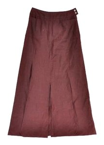 Chanel Maxi Skirt Burgundy