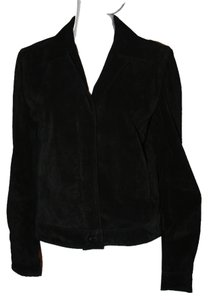 Tommy Hilfiger Suede Leather Chic Leather Jacket