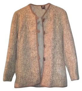 Pure New Wool Beige Blazer