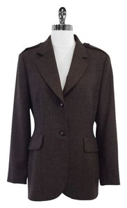 Fendi Brown Wool Jacket