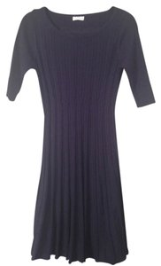 A Pea In The Pod Dark Blue Sweater Dress