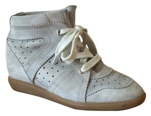 Isabel Marant Bobby Sneakers Trainers Baby Blue Light Blue Athletic