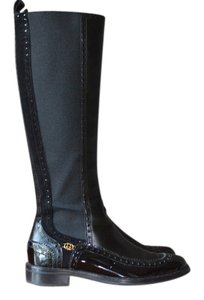 Gucci Tall Pull On Dressed Up Black Boots
