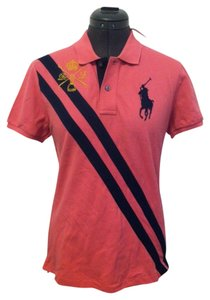 Ralph Lauren Big Pony Polo T Shirt pink