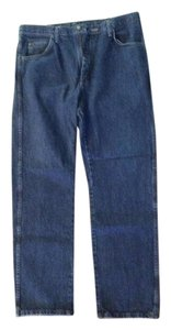 Wrangler 36/32 Relaxed Fit Jeans-Medium Wash