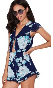 Nasty Gal short dress Navy on Tradesy
