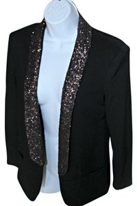 English Rose Black Blazer