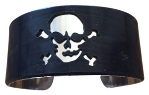 Jeff Davis UncommonGoods Record Cuff Bracelet with Skull