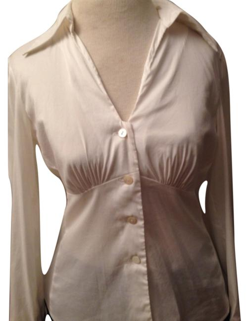 Trina Turk Button Down Shirt White Image 0