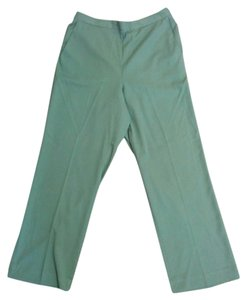 Alfred Dunner Straight Pants Celery Green