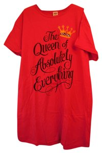rel-e-vant One Size Fits All Queen of Everything Nightshirt