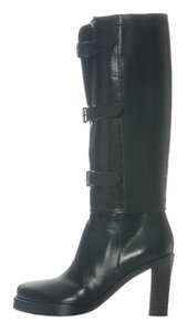 Ann Demeulemeester Buckle Black Convertible Vc.eh1201.22 Boots