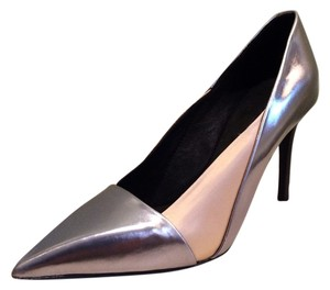 See by Chloé Silver Beige Pumps