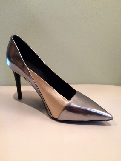 See by Chloé Silver Beige Pumps Image 1