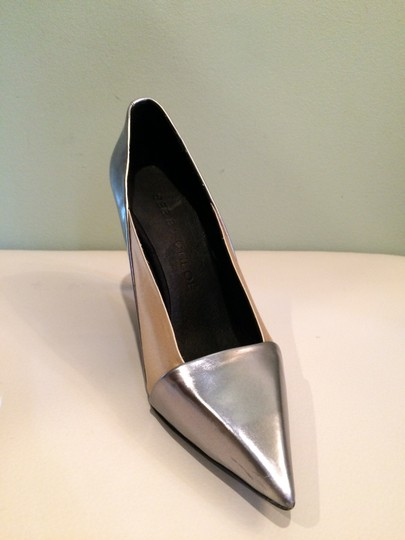 See by Chloé Silver Beige Pumps Image 3