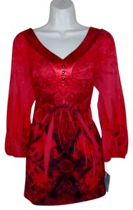 Unity World Wear Scarlet Cult Top Red