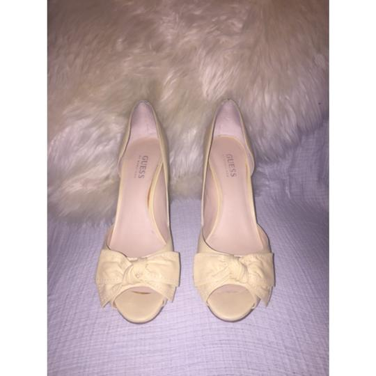 Guess By Marciano Light yellow/nude Sandals Image 3