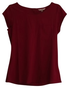 Banana Republic Top Red