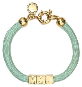 Marc by Marc Jacobs NEW Marc by Marc Jacobs Grab and Go Slider Tube Bracelet in Light Blue MMJ