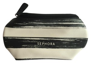Sephora Sephora Zipper Tube Striped Cosmetics Bag