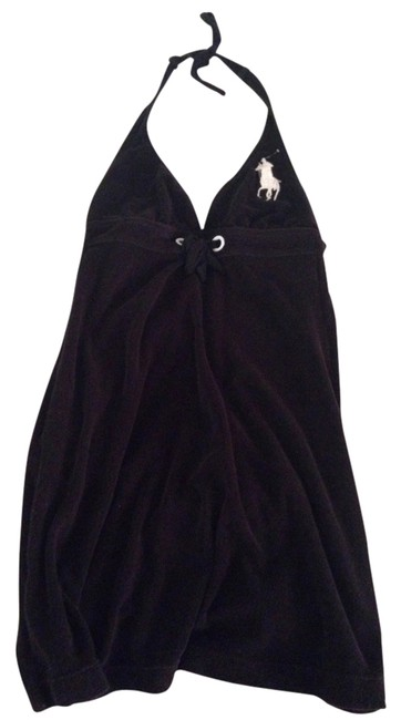 Item - Black Halter Cover-up/Sarong Size 2 (XS)