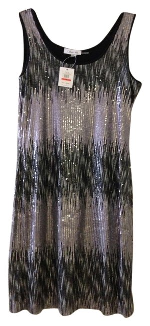 Preload https://img-static.tradesy.com/item/857018/calvin-klein-silver-above-knee-night-out-dress-size-2-xs-0-0-650-650.jpg
