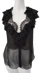 Robert Rodriguez Evenign Top Black