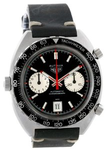 Heuer Heuer Autavia Automatic Chronograph Stainless Steel Mens Watch 1163