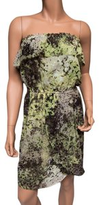 Julie Dillon short dress Green Splatter Multicolor on Tradesy