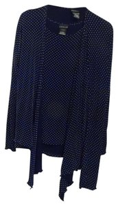 Citiknits Top Navy Blue