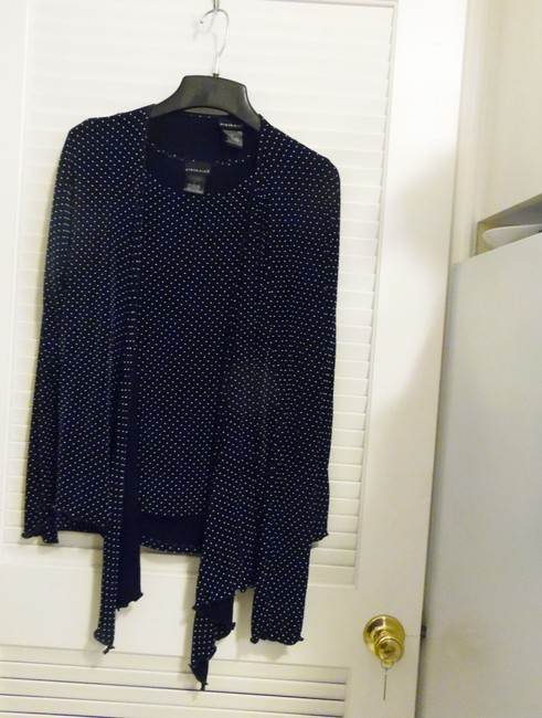 Citiknits Top Navy Blue Image 1