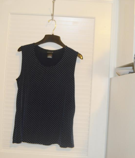 Citiknits Top Navy Blue Image 3
