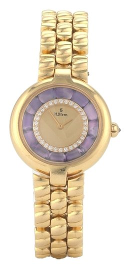 Preload https://img-static.tradesy.com/item/8571754/18-karat-gold-diamond-and-amethyst-ladies-watch-0-1-540-540.jpg