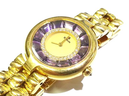 H.Stern H.Stern 18 karat Gold, Diamond and Amethyst Ladies' Watch Image 4