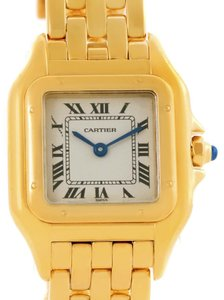 Cartier Cartier Panthere 18k Yellow Gold Quartz Ladies Watch W25022B9