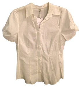 Calvin Klein Chic Modern Crisp Versatile Detailed Button Down Shirt