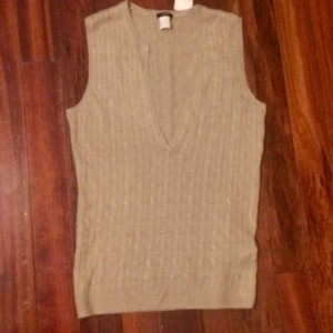 J.Crew Cableknit Cable Knit Sweater Vest