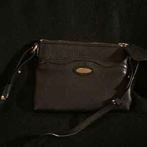 Tahari Brand New Gold Hardware Cross Body Bag